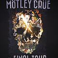 Mötley Crüe - The Final Tour 2014 tour shirt