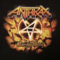 Anthrax - Earth Is On Hell 2011 tour shirt