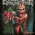 Iron Maiden - The Book Of Souls 2016 tour shirt