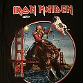 Iron Maiden - California 2012 event shirt
