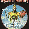 Iron Maiden - Brazil 2013 event shirt