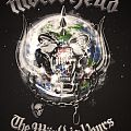 Motörhead - The World Is Yours 2011 tour shirt