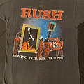 Rush - Moving Pictures 1981 tour shirt
