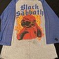 Black Sabbath - Born Again Tour 1984 baseball shirt