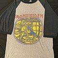 Iron Maiden - World Piece Tour 1983 baseball shirt
