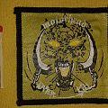 Motörhead - Overkill Official Vintage Patch