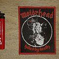 Motörhead - Killed By Death Bootleg Patch