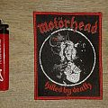Motörhead - Killed By Death Bootleg Patch