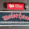Motörhead - Chains vintage stripe  Patch