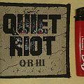 Quiet Riot - QR III officiall Patch