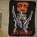 Jimi Hendrix vintage 80's patch