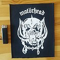 Motörhead - Patch - Motörhead - late 70s snaggletooth mini backpatch