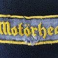 Motörhead vintage logo patch