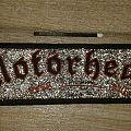 Motörhead - Patch - Motörhead overkill vintage glitter stripe