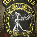 Official woven Angel Witch patch