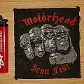 Official Motörhead - Iron Fist Patch