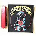 Rose Tattoo official woven patch