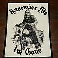 Motörhead - Patch - Lemmy - Remember me Im gone patch