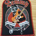 Lemmy - Patch - Lemmy - Red Border (glitter)