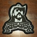 Lemmy - Born to lose lived to win patch