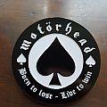 Motörhead - Pin / Badge - Motörhead - Born to lose - live to win pin