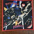 Motörhead - Patch - Motörhead Bomber Patch red