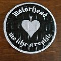 Motörhead - Patch - Motörhead love me like a reptile snake skin patch
