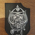 Motörhead 1915 shield patch - black border