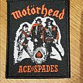 Motörhead - Ace of spades patch