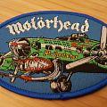 Motörhead - Patch - Motörhead - Mötherfucker Heinkel He 177 Bomber Patch Blue Border