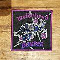 Motörhead - Patch - Motörhead - Bomber Patch Purple border