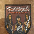 Motörhead - Iron fist shield patch