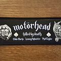 Motörhead - Killed by Death three Amigos patch