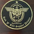 Motörhead - Patch - Motörhead - Rock n Roll Support Division - Gold Border Patch