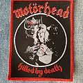 Motörhead - Killed by Death Patch