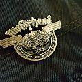Motörhead - Pin / Badge - Motörhead - Inferno pin and Motörcycle cut
