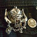 Motörhead - Pin / Badge - Motörhead - Snaggletooth pin and Motörcycle cut