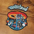Motörhead - Rock Commando Large embroidered Backpatch