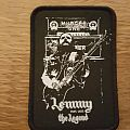 Lemmy the Legend patch black border