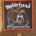 Motörhead - Patch - Motörhead - Orgasmatron Bootleg
