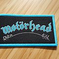 Motörhead - Overkill mini stripe Patch