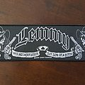 Lemmy - 51/49 stripe patch