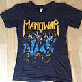 Manowar Fighting the World 1987 european tour shirt