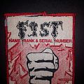 Fist - Name, Rank And Serial Number patch