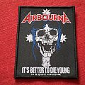 Airbourne woven patch