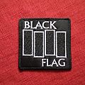 Black Flag embroidered patch