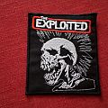 The Exploited embroidered patch