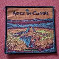 Alice in chains woven patch