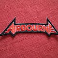 Airbourne embroidered patch