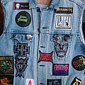 Metal patch vest